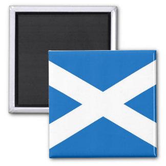 Magnet mit Flagge des Schottlands Quadratischer Magnet