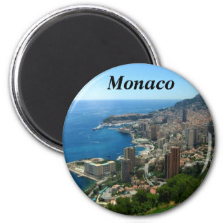 Magnet Monacos Frankreich Runder Magnet 5,7 Cm