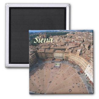 Magnet Siena Italien Quadratischer Magnet