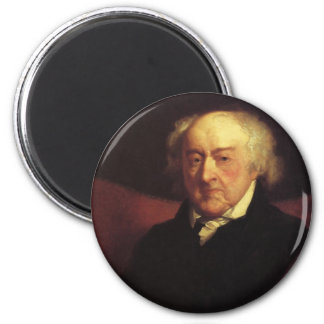 Magneten Präsidenten John Adams Runder Magnet 5,7 Cm
