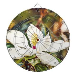 Magnolie in der Blüte Dartscheibe