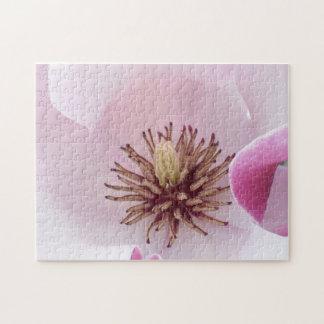 Magnolien-Blume Puzzle