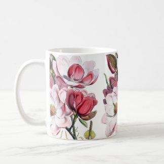 Magnolien-Blumen Tasse