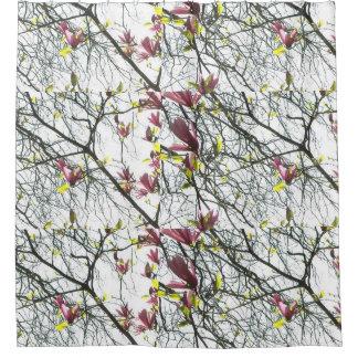 Magnolien-HimmelDuschvorhang Duschvorhang