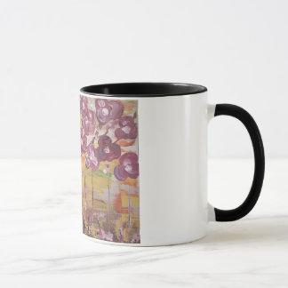 Magnolien-Malerei-Tasse Tasse