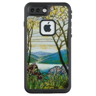 Magnolien-und Iris-landschaftliche Inspiration LifeProof FRÄ' iPhone 7 Plus Hülle
