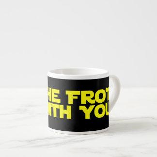 Mai ist der Schaum mit Ihnen Espresso-Tasse