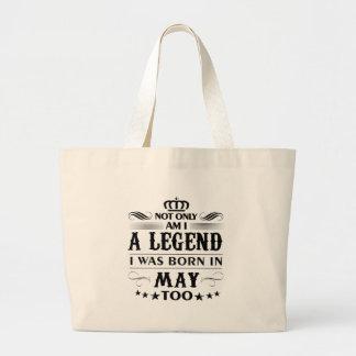 Mai-Monat Legendent-shirts Jumbo Stoffbeutel
