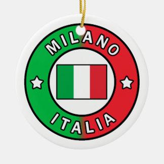 Mailand Italien Keramik Ornament