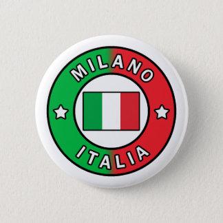 Mailand Italien Runder Button 5,7 Cm