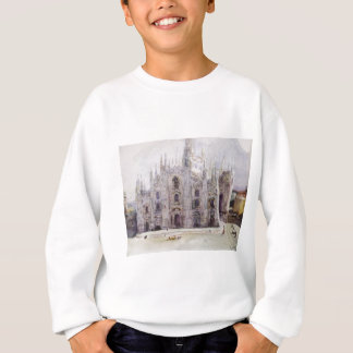 Mailands Kathedrale durch Vasily Surikov Sweatshirt