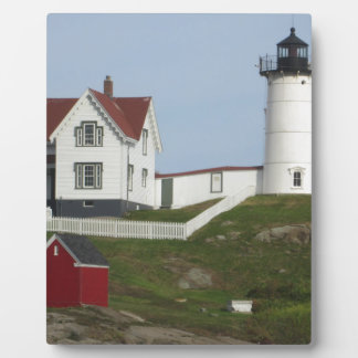 Maine-Leuchtturm Fotoplatte