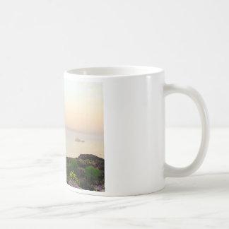 Maine-Morgen-Nebel Kaffeetasse