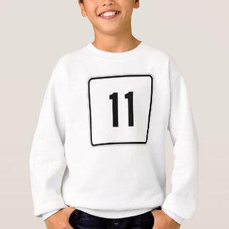 Maine-Staats-Weg 11 Sweatshirt