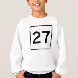 Maine-Staats-Weg 27 Sweatshirt