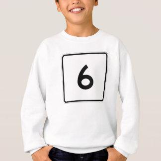 Maine-Staats-Weg 6 Sweatshirt