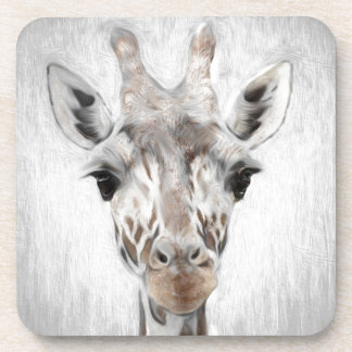 Majestätische Giraffe schilderte produktreiches Untersetzer
