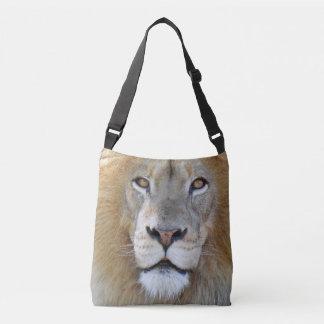 Majestätischer Löwe-nahes hohes Tragetaschen Mit Langen Trägern