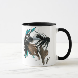 Majestätisches Pferd durch Bihrle Tasse