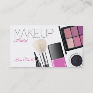 Make Up Artist Visitenkarte