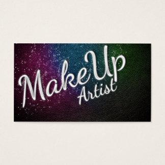 Makeup Artist brushes Visitenkarte