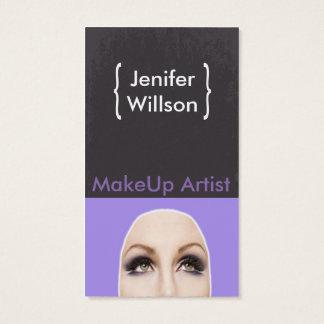 Makeup Artist Geschäft Card Visitenkarte