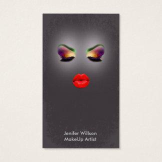 Makeup Artist Geschäft Card Visitenkarten