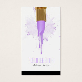 Makeup Artist Visitenkarte