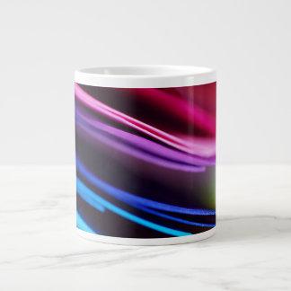 Makro bunter PapierFoto-Regenbogen Jumbo-Tassen