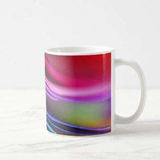 Makro bunter PapierFoto-Regenbogen Kaffeetasse