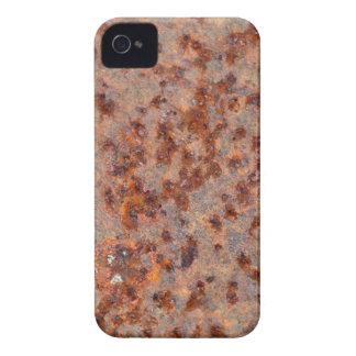 MakroFoto eines rostigen Eisenblattes iPhone 4 Hüllen