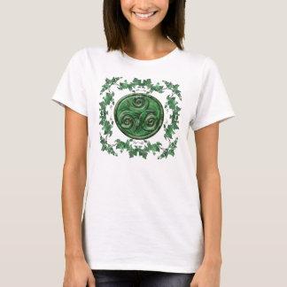 Malachit-Efeu Triskel T-Shirt