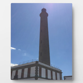 Màlaga-Leuchtturm Fotoplatte