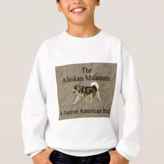 Malamute-gebürtige Zuchtkopie Sweatshirt