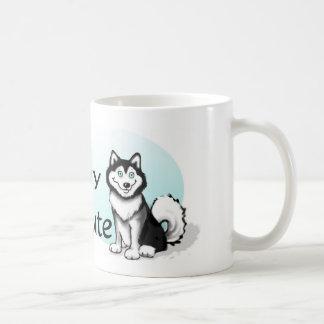 Malamute-Hund Tasse