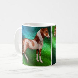 Malen Sie klassische Tasse des Pferd11oz, ändern