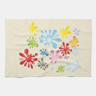 Malen Sie Spritzer Handtuch