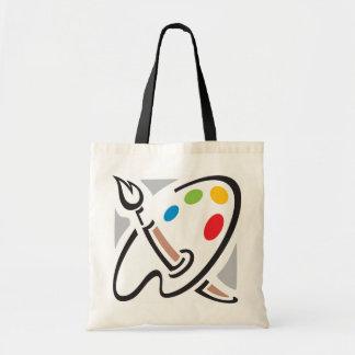 Maler-Paletten-Taschen-Tasche Budget Stoffbeutel