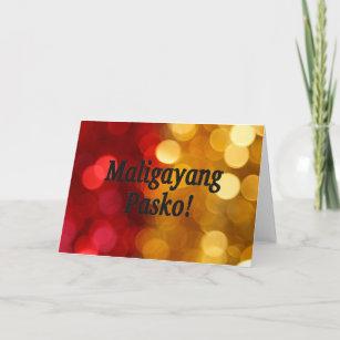 Frohe Weihnachten Philippinisch.Frohliche Weihnachten Auf Philippinisch Frohe Weihnachten