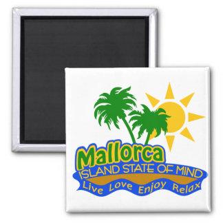 Mallorca-Staat des Sinnesmagneten Kühlschrankmagnet
