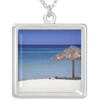 Malmok Strand, Aruba, niederländische Antillen Halskette Mit Quadratischem Anhänger