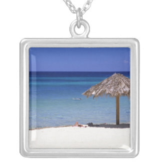 Malmok Strand, Aruba, niederländische Antillen Versilberte Kette