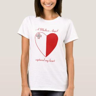 Malta-Flaggen-Schatz-T - Shirt