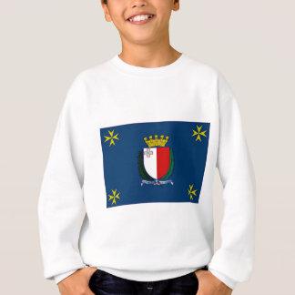 Malta-Präsident Flag Sweatshirt