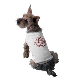 Malteserkreuz-HundeT - Shirt Ärmelfreies Hunde-Shirt