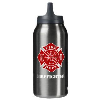 Malteserkreuz-Thermo Flasche Feuer-Abteilung
