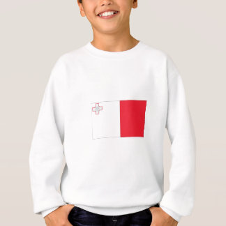 Maltesische Flagge Sweatshirt