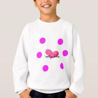 Maltesische Sprache des Liebe-Entwurfs Sweatshirt