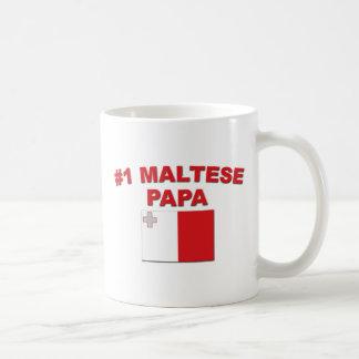 Maltesischer Papa #1 Tasse