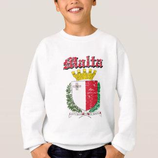 Maltesisches Wappen des Schmutzes Entwürfe Sweatshirt